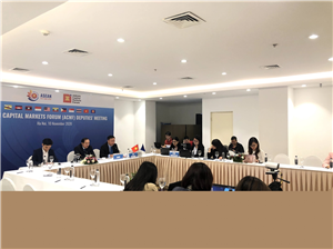 ASEAN CAPITAL MARKETS FORUM (ACMF) DEPUITES MEETING 2020