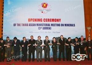 HỘI NGHỊ BỘ TRƯỞNG CÁC NƯỚC ASEAN VỀ KHOÁNG SẢN LẦN THỨ 3