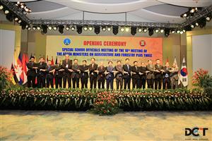 Hội nghị quan chức cấp cao Nông, Lâm nghiệp ASEAN (Special SOM-40th AMAF)