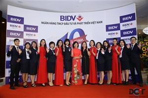 Sự kiện lễ kỷ niệm 10 năm thành lập BIDV Mỹ Đình