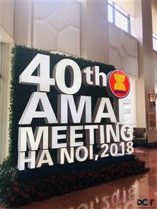 Hội nghị Bộ trưởng Nông Lâm nghiệp ASEAN (AMAF) lần thứ 40